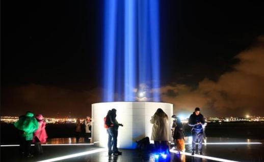 点亮想像和平之塔