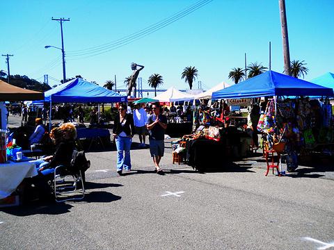 金银岛跳蚤市场的图片