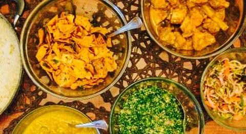 Curry and Rice Habarana
