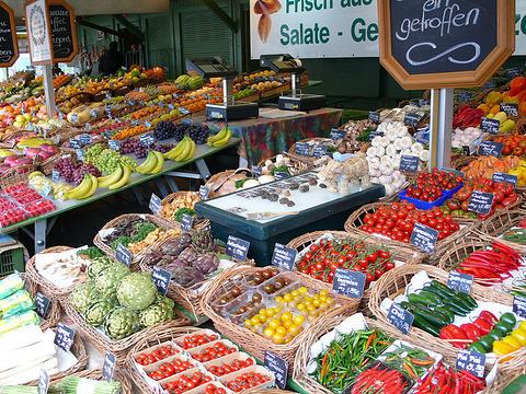 谷物市场旅游景点图片