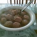 妈加家香菇圆子汤
