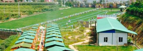 紫溪滑草场花园餐厅
