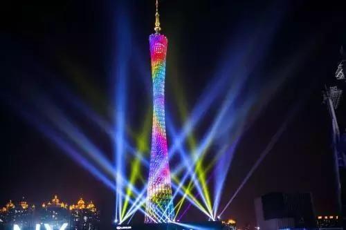花城广场灯光音乐会