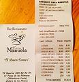 Bar Restaurante Casa Manuela