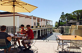 Cafe at the Getty Villa