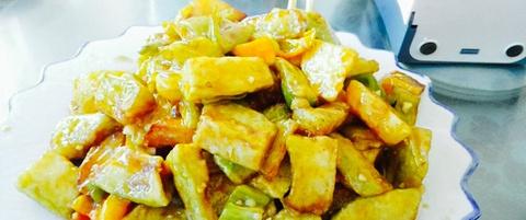 顺口石磨水豆腐