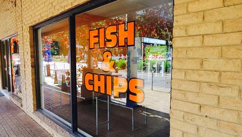 Halls Gap Fish and chips
