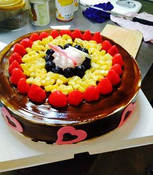 麦香蛋糕的图片