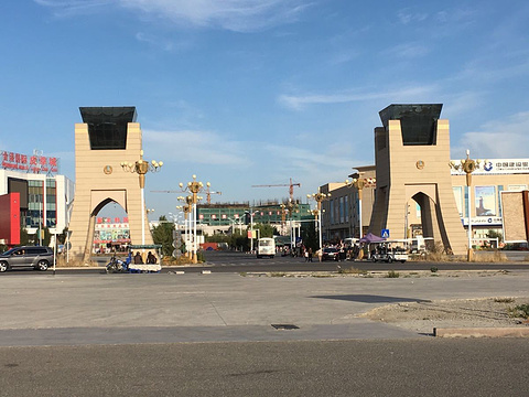霍尔果斯口岸国际商贸中心旅游景点图片