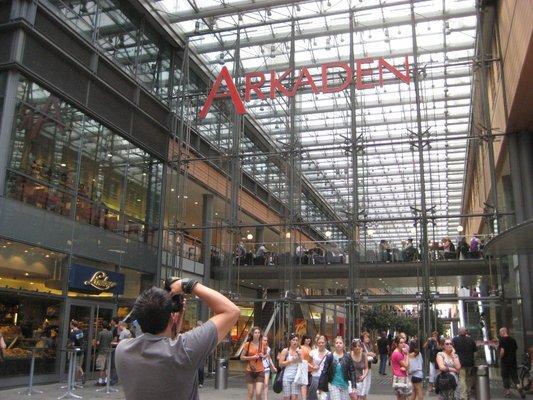 Potsdamer Platz Arkaden购物中心