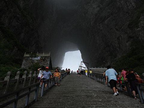 天门洞旅游景点图片