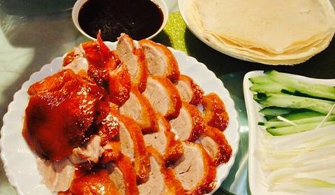 北京果木烤鸭的图片