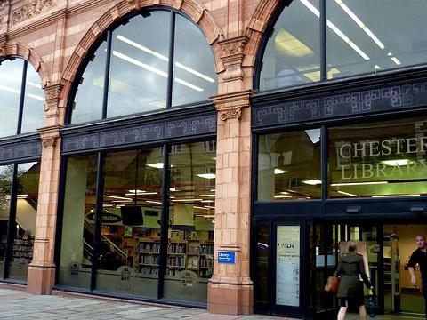 切斯特比替图书馆旅游景点图片