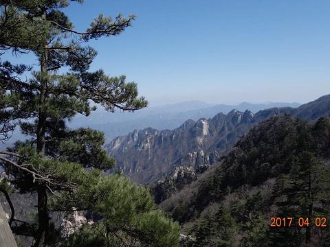 尧山风景区旅游景点图片