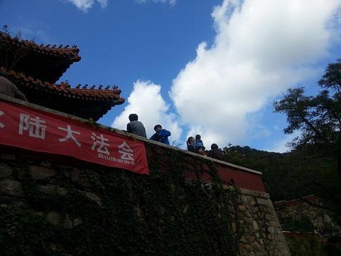 云罩寺的图片