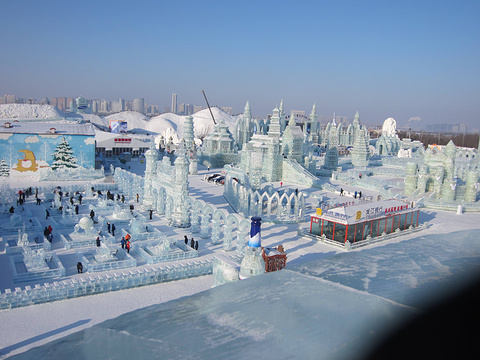 冰雪大世界旅游景点图片