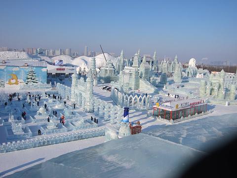 冰雪大世界的图片