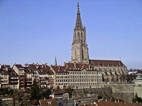 伯尔尼大教堂旅游景点图片