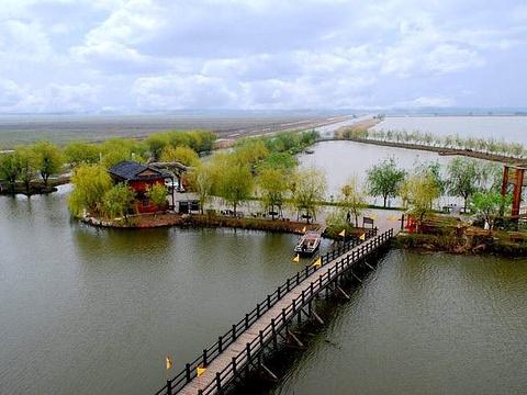 高邮湖湿地旅游景点图片