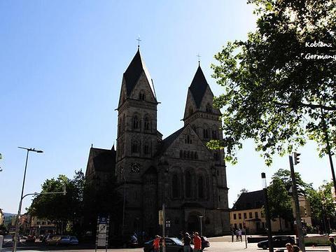 科布伦茨 赫茨耶稣教堂旅游景点图片