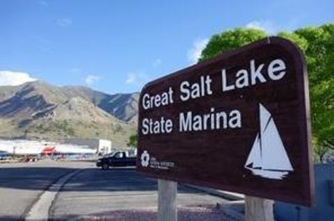 大盐湖州立游艇码头