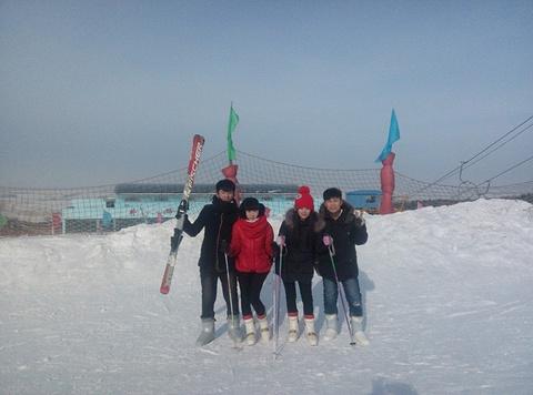 卧佛山滑雪场的图片