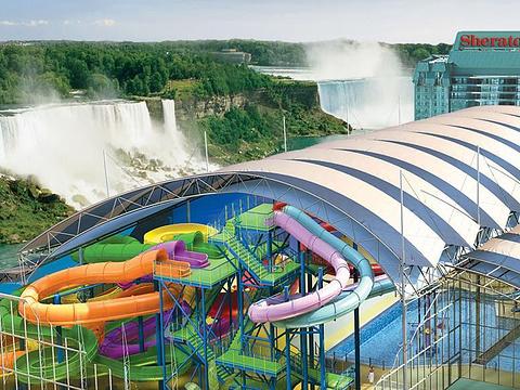 瀑景室内水上公园旅游景点图片