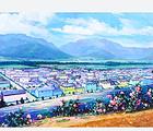 丽江九色玫瑰小镇