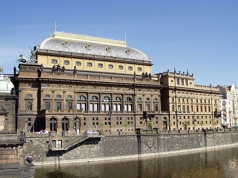 布拉格国家剧院旅游景点图片