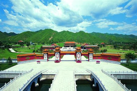 老北京微缩景园的图片