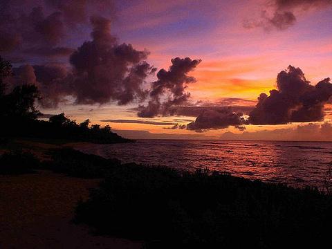 丘鲁海滩旅游景点图片