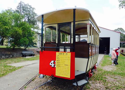 布里斯班电车博物馆的图片