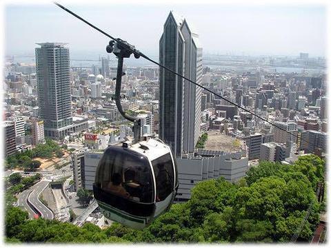 新神户索道旅游景点图片