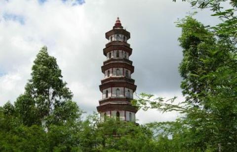 文昌塔的图片