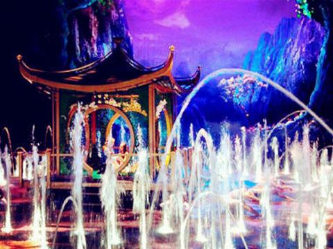 新濠天地《水舞间》表演旅游景点图片