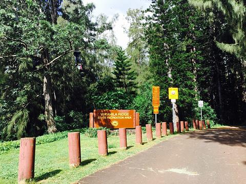 Wa'ahila Ridge State Recreation Area