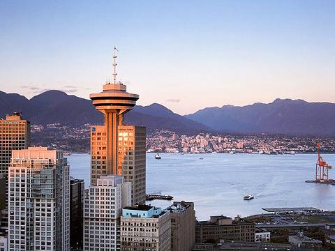 温哥华观景塔旅游景点图片