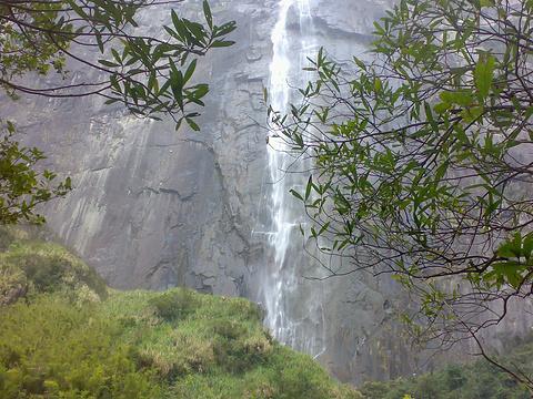 岱仙瀑布旅游景点图片