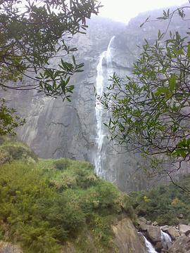 岱仙瀑布的图片