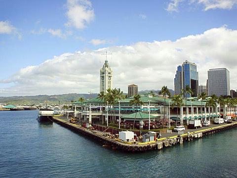 火奴鲁鲁海港旅游景点图片