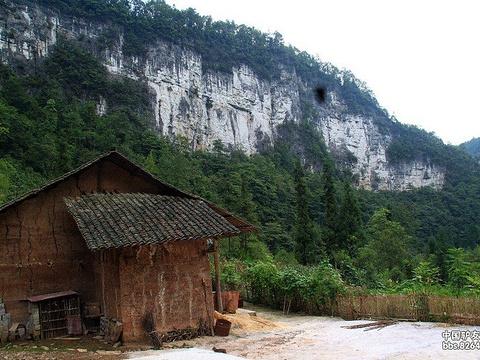 中石院天坑旅游景点图片