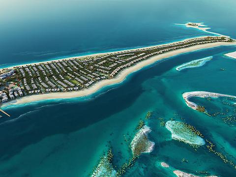 萨迪亚特岛旅游景点图片