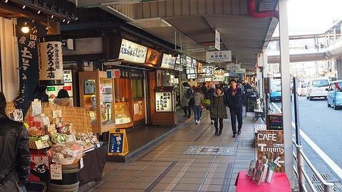 箱根汤本站前商店街