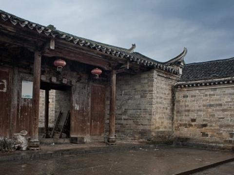 月岭古民居旅游景点图片
