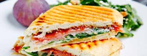Gold Brown Panini-Espresso Bar
