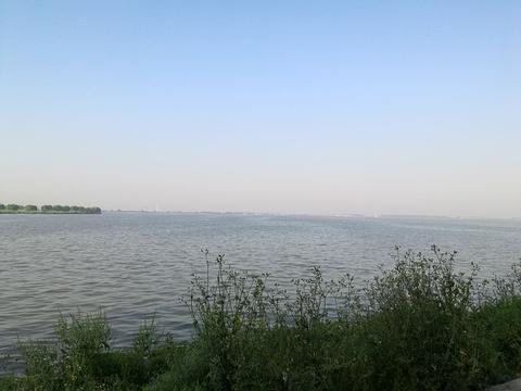 漕湖湿地公园旅游景点图片