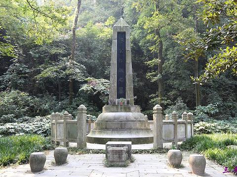 蔡锷墓旅游景点图片