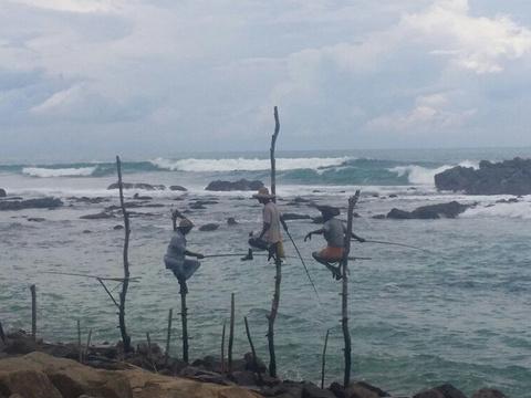 高跷渔夫旅游景点图片