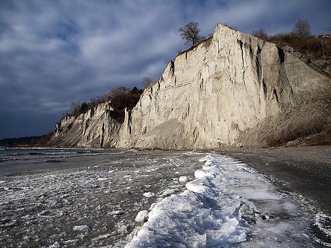 斯卡堡悬崖旅游景点图片
