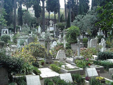 新教徒墓园的图片